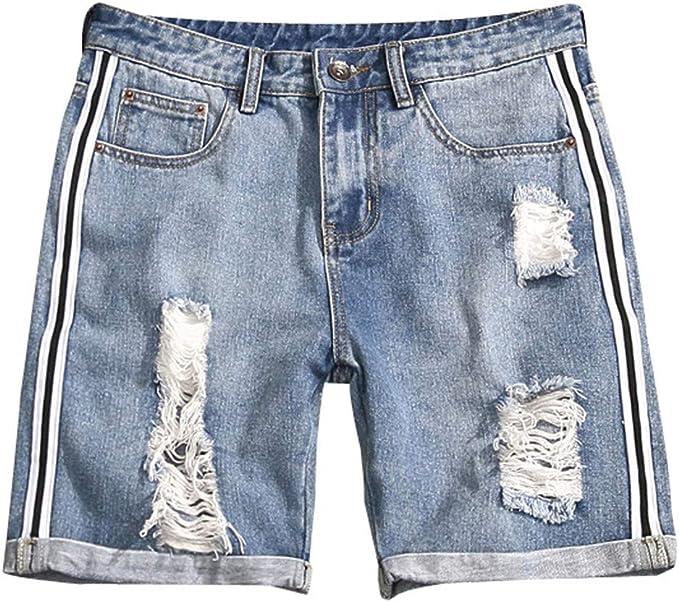 MXJEEIO Pantalones Cortos De Verano para Hombre Gran tamaño de los ...
