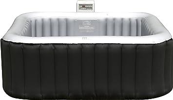 Elegant Aufblasbarer Whirlpool MSpa ALPINE M 009LS LITE Inkl. Heizfunktion + Pool  Test PHu0026Chlor
