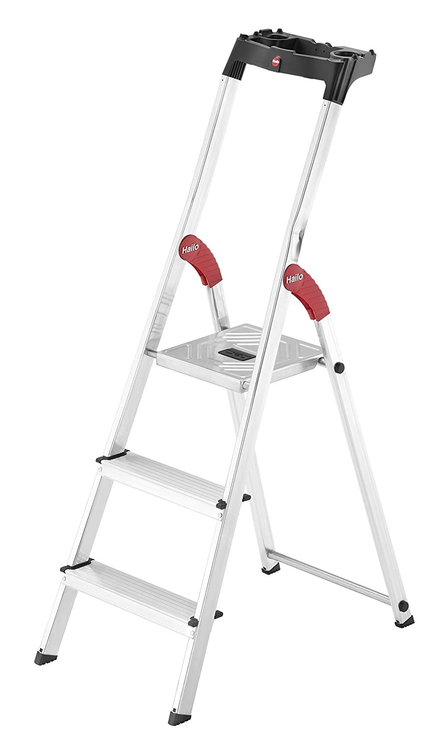 Hailo 8160-801   L60 8-Tread Aluminum Step Ladder