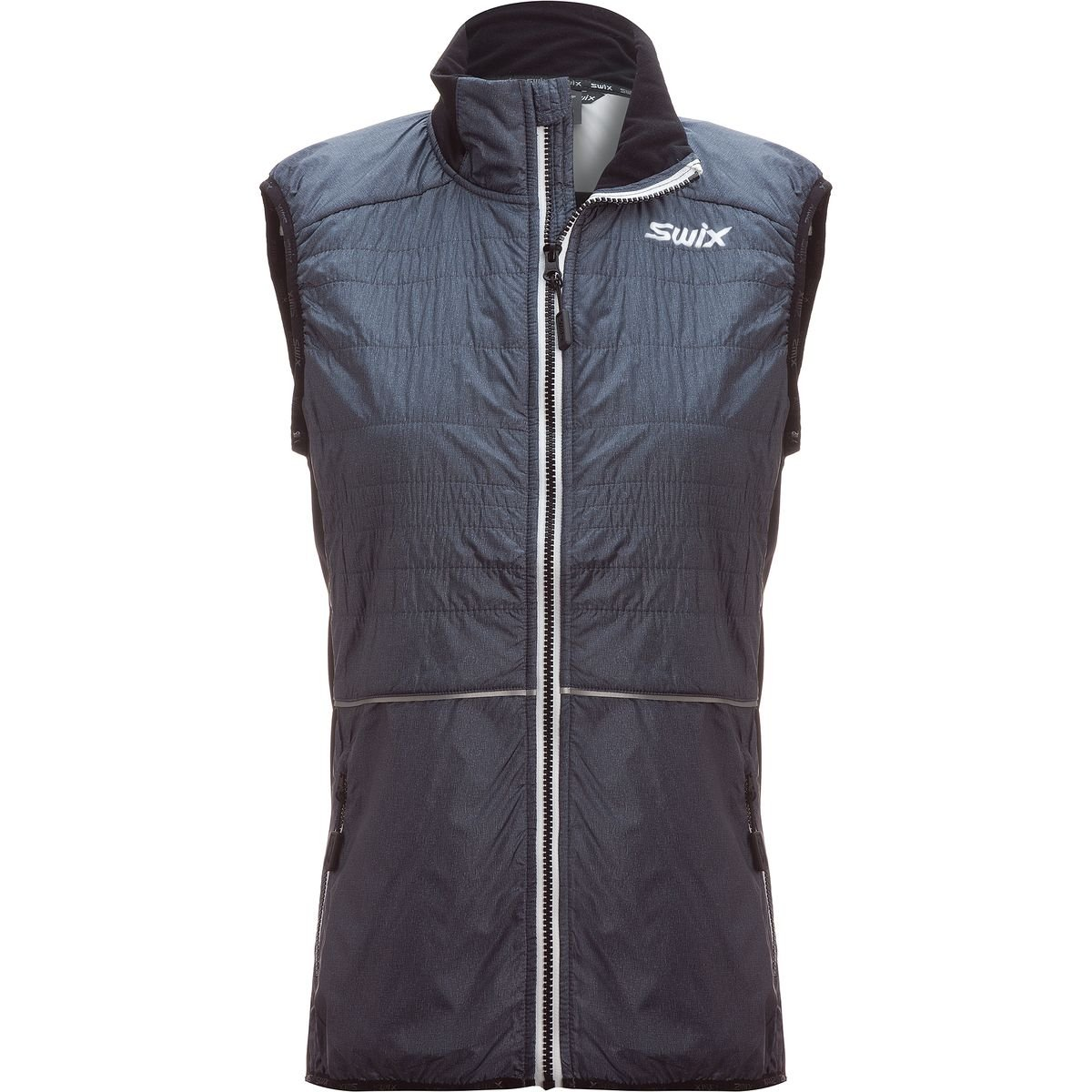 Swix Menali 2 Quilted Vest - Women's Heather/Charcoal, S