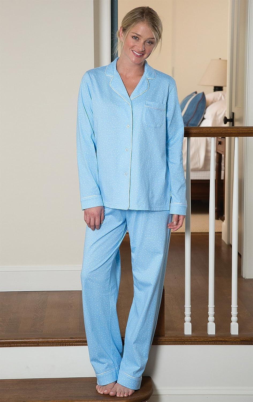 PajamaGram Pajama Set for Women Cotton Jersey Pajamas Women