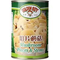 Golden Boy Mushroom Stem and Pieces, 425g