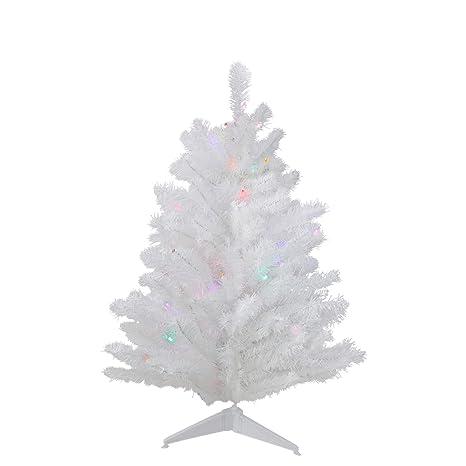 3 Pre Lit Christmas Tree.3 Pre Lit Led Snow White Artificial Christmas Tree Multi Lights