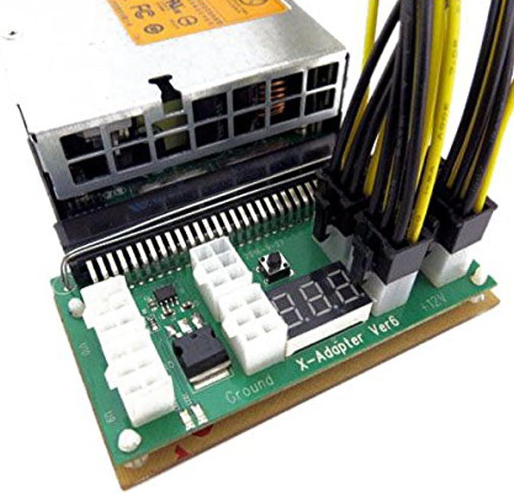 Almencla 750 Watt Power Supply Kit for GPU Mining High Efficiency 94/% ETH Ethereum