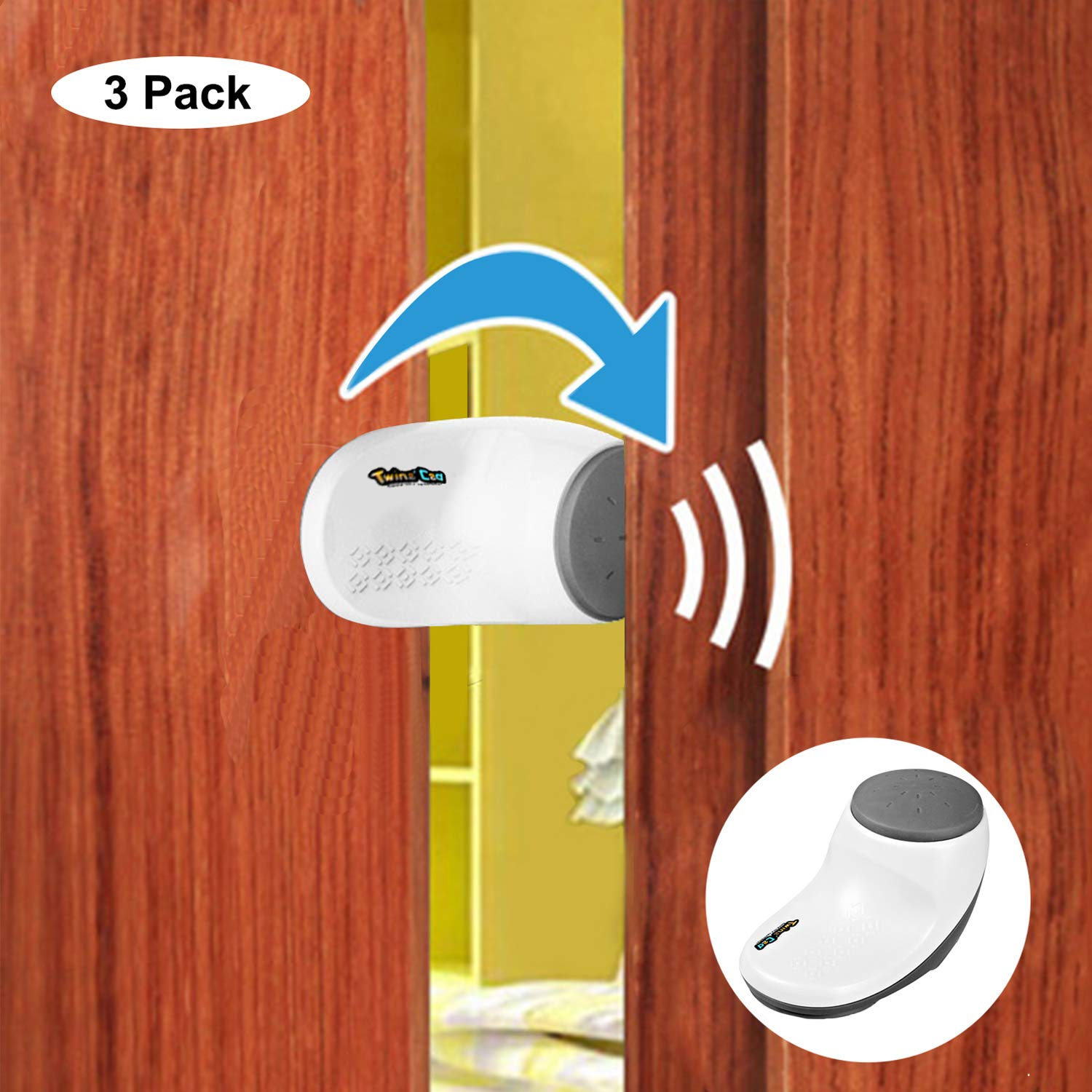 Child Door Stoppers, Finger Pinch Guard, Child Safety Door Pinch Guard, Pet Door Stopper,3 Pack