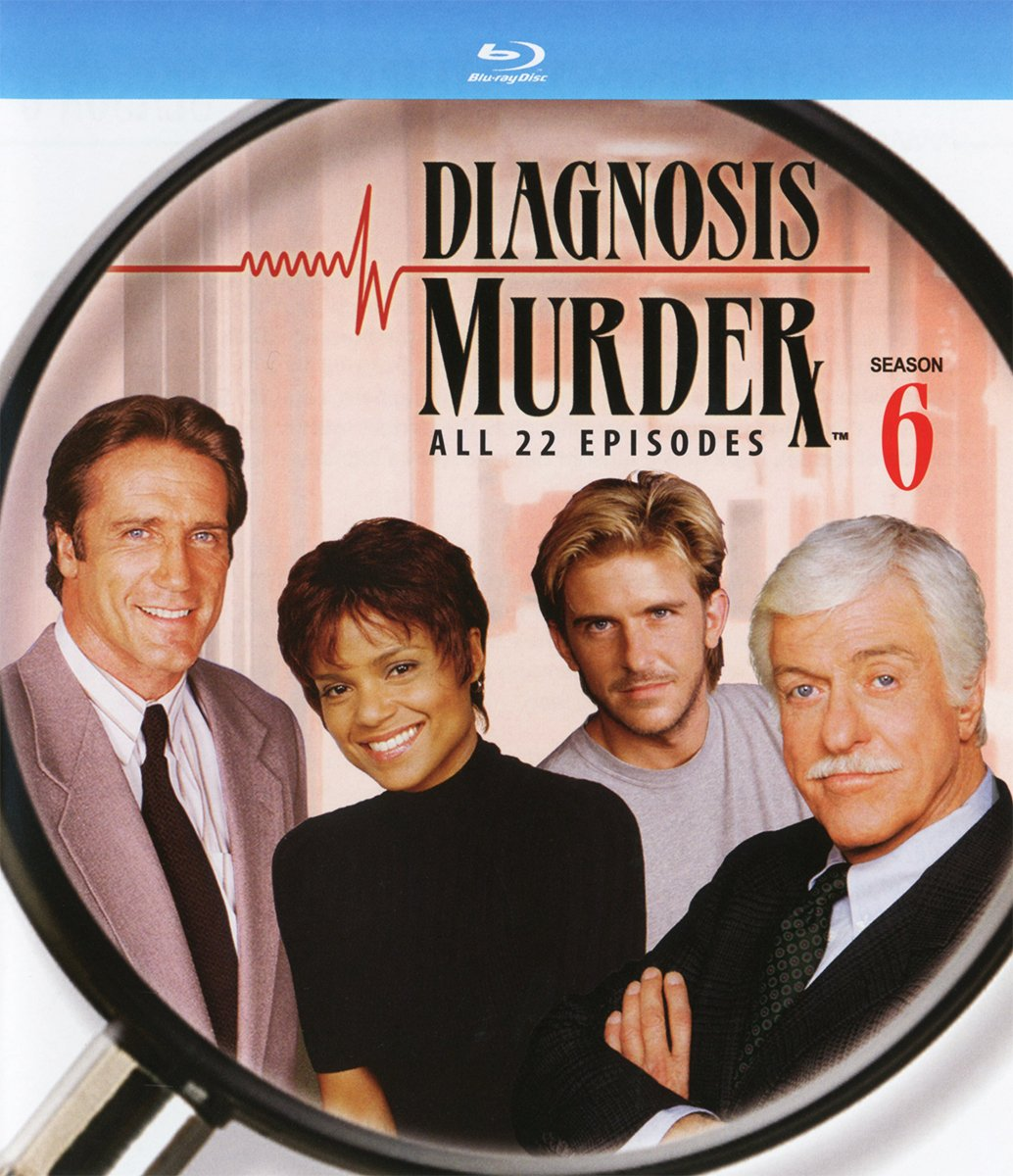 Blu-ray : Diagnosis Murder: The Sixth Season (3 Pack, 3PC)