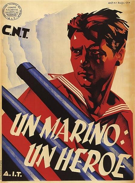 La Guerra Civil Española 1936-39 Propaganda marinero: un ...
