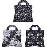 Envirosax Out of Africa Reusable Shopping Bags, (Set of 3), Floral Butterfly