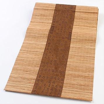 Tischlaufer Japanischen Stil Tisch Dekor Bambus Tischlaufer Matte