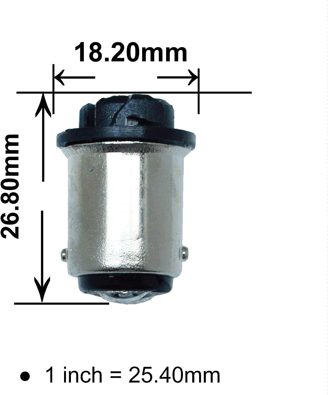 PA 10/x T10/168/194/au BA15D ampoule Base Converter Sailing Utilisation ampoule adaptateur