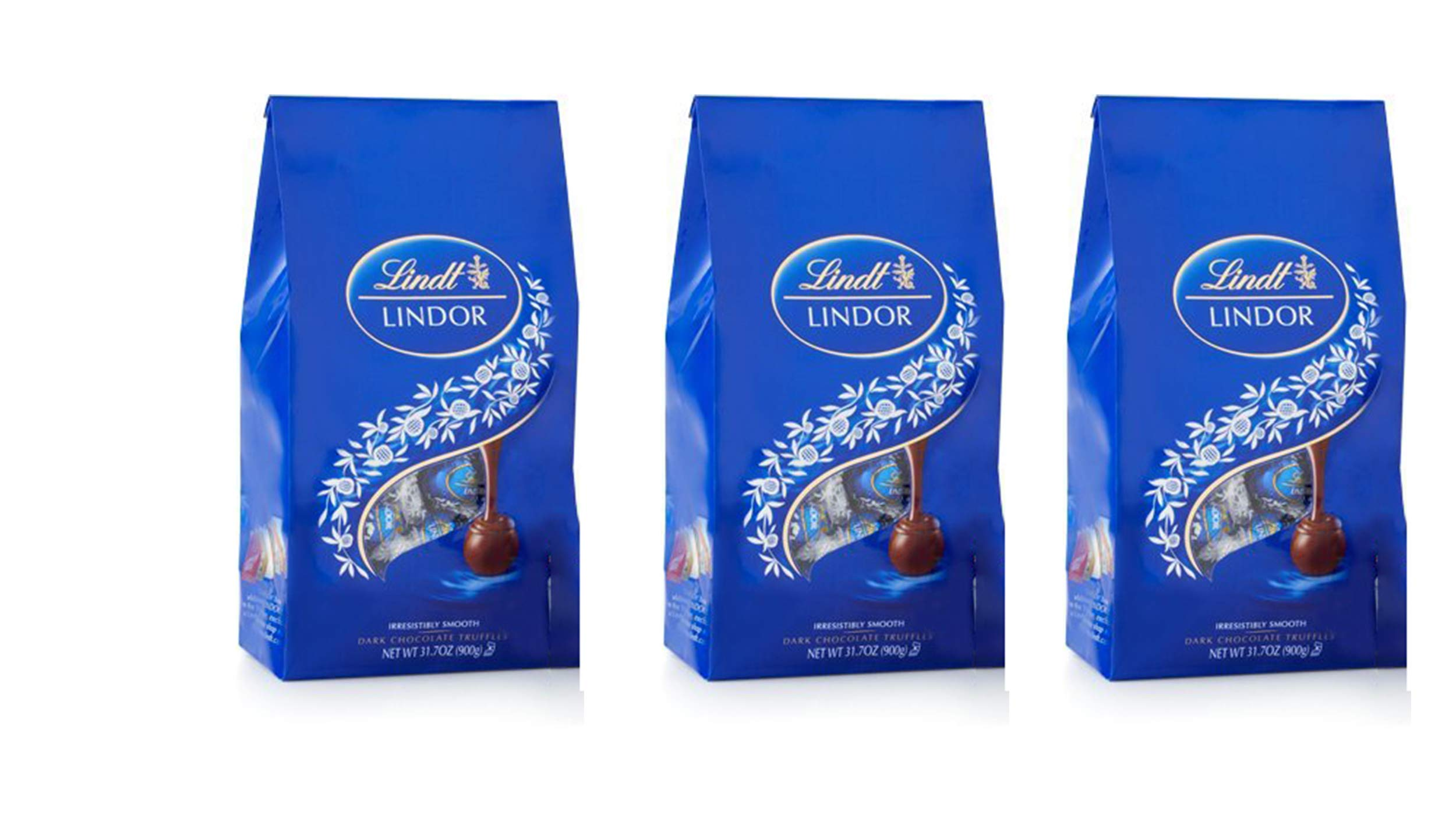 Lindt Lindor Truffles Dark Chocolate with Smooth