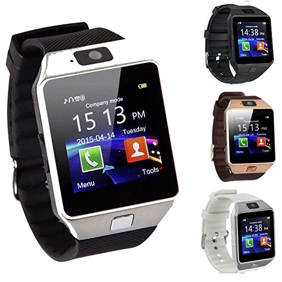 Amazon.com: DZ09 Bluetooth Smart Watch Phone + Camera SIM ...