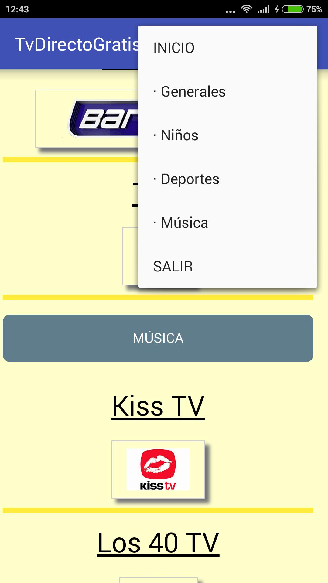 TV Directo Gratis: Amazon.es: Appstore para Android