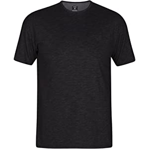 e30454d45 Amazon.com  Hurley Men s Dri-Fit One   Only 2.0 Tee Black Small ...