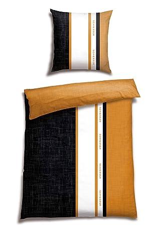 Schiesser Satin Bettwäsche Set 135x200 cm  /& 80x80 cm