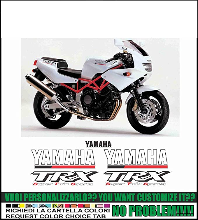 Kit adesivi - Pegatinas Decorativas para Yamaha TRX 850 ...