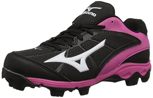 Mizuno 9 Spike ADV YTH FINCH FRHSE6 BP Youth Girls Molded Cleat - The Best Lacrosse Cleat for Children