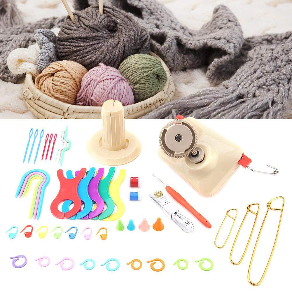 Bobineuse de fil /à tricoter avec enrouleur Ensemble de fil /à tricoter ensemble de fils de fil /à tricoter Pelote de fil de laine