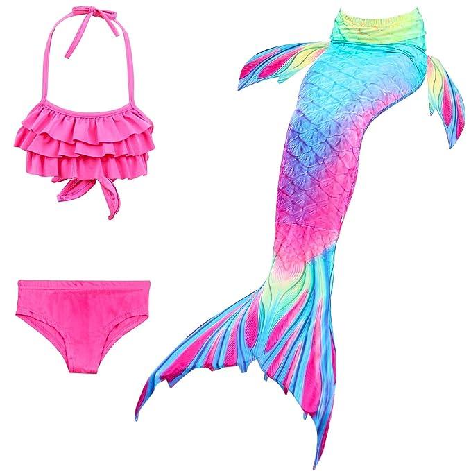 Amazon.com: Lora Rossie - Bañador de cola de sirena para ...