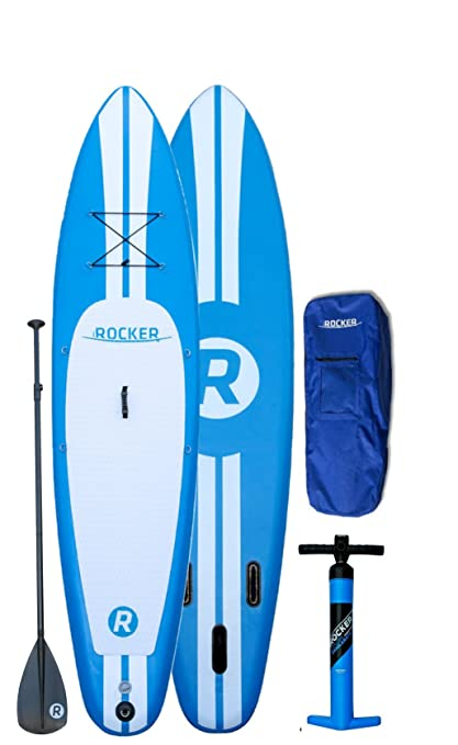 iRocker Paddle Board® 10' (6in Thick) Inflatable SUP Package: 2 YR Warranty