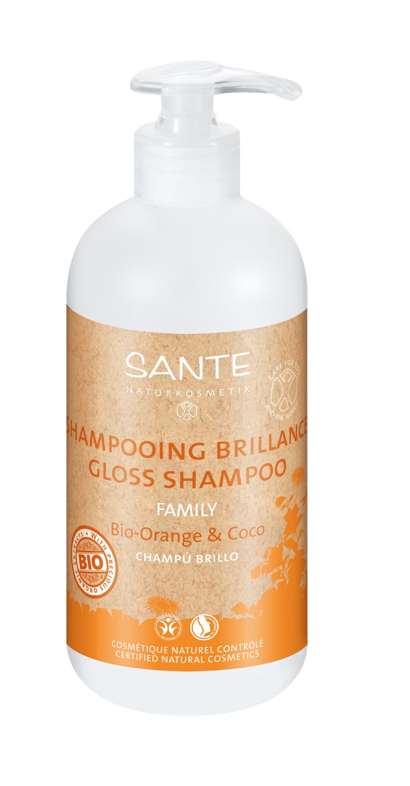 Sante, Champú bio de naranja y coco- 950 ml. product image