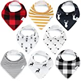 Bandana Baby Bibs for Boys and Girls by...