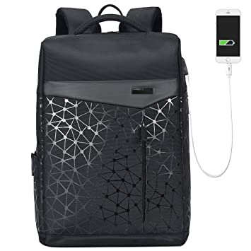 Amazon.com: Aoking College 15.6 Mochila USB para ordenador ...