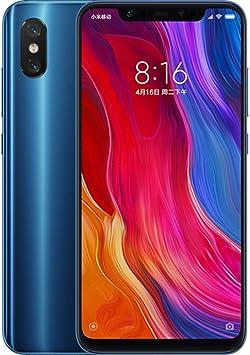 Xiaomi Mi 8 Dual SIM 128GB 6GB RAM Azul SIM Free: Amazon.es ...