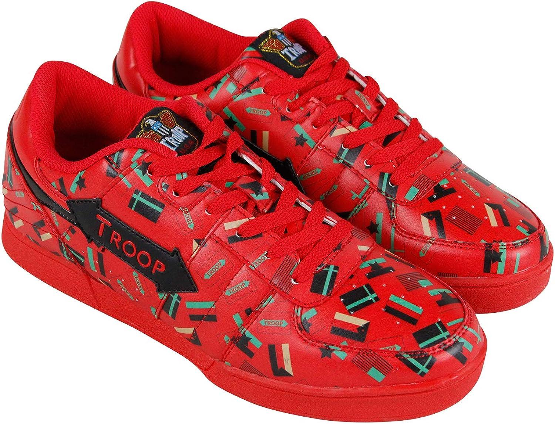 Troop Crown Men's Flag Shoes Sneakers