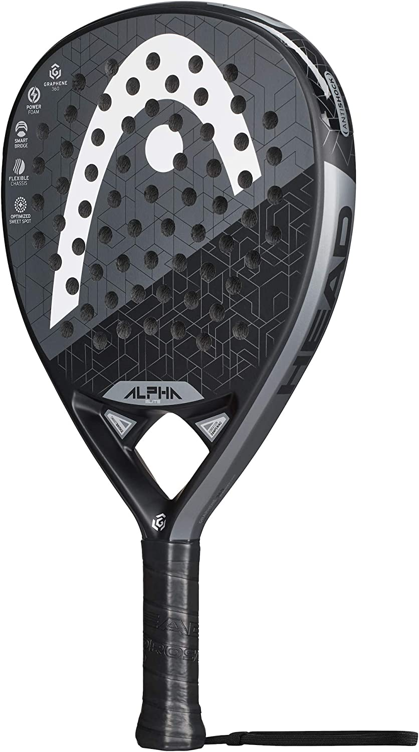 Head Graphene 360 Alpha Elite 2019, Adultos Unisex, Multicolor, Talla Unica