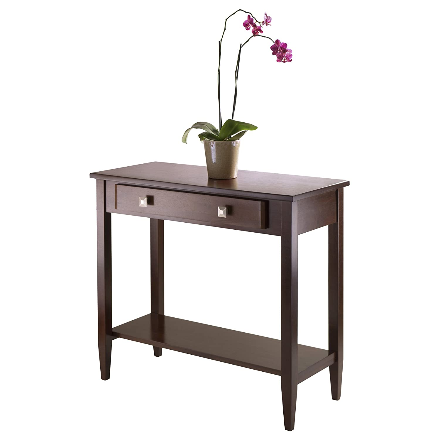 Amazon.com: Winsome Richmond Console Hall Table With Tapered Leg: Kitchen U0026  Dining