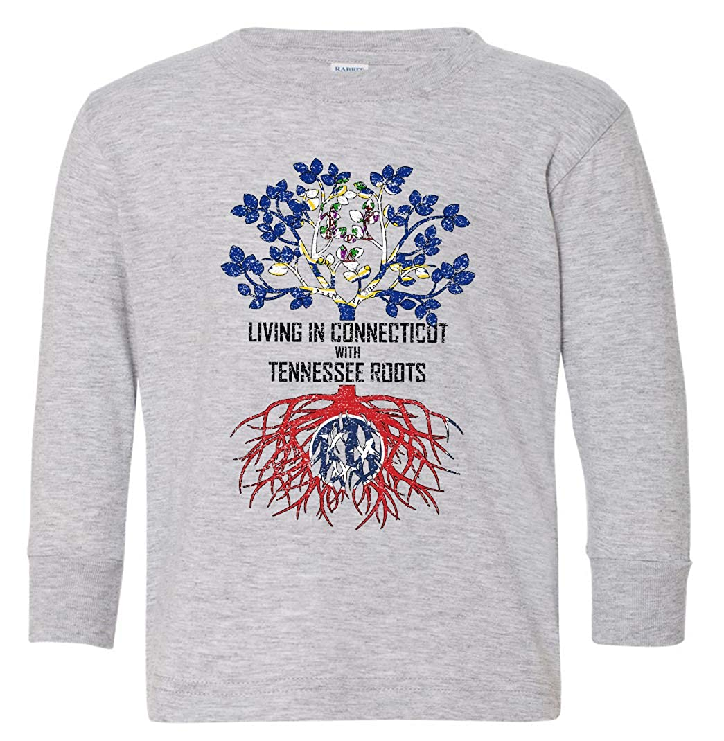 Tenacitee Babys Living in Connecticut Tennessee Roots Shirt