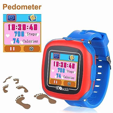 VANNICO Smartwatch Niños, Reloj Niños No GPS, Reloj Inteligente ...