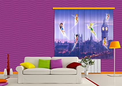 Tende Per Camera Bambini : Ag design fcs xl 4314 tende per camera bambini motivo fate disney