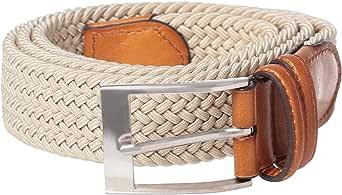 Pierre Cardin Beige Leather Belt For Men