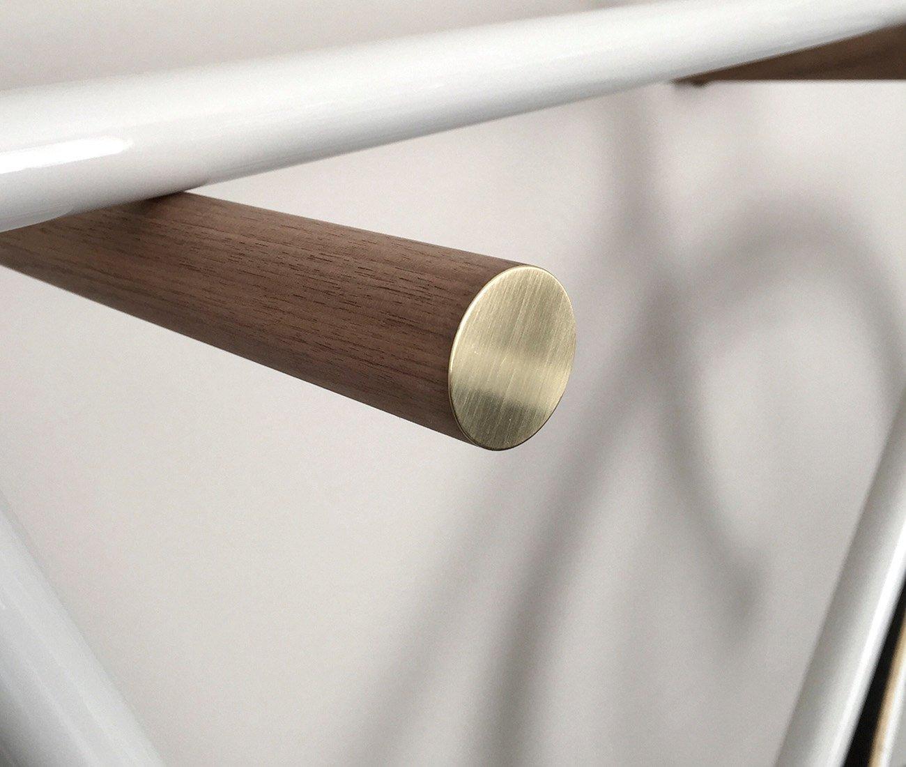 de haute qualit/é en m/étal/ /Bike Hooks/ ou couleur en ch/êne ou Noyer /meuble pour mo /versch avec fa/çades Baguettes /à S/élection Designer V/élo Support mural/