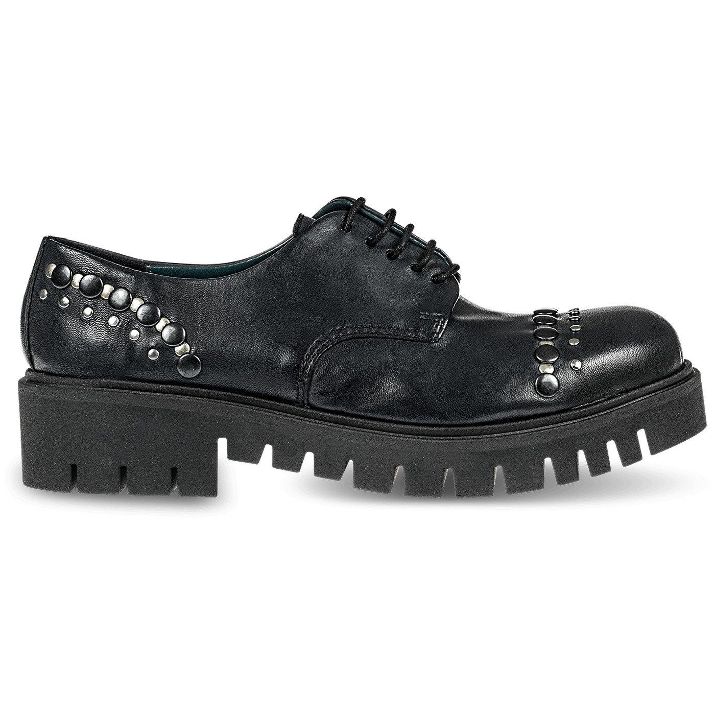 Fabbrica Dei Colli , Chaussures de ville à à pour lacets Dei pour femme Noir 649d7af - reprogrammed.space