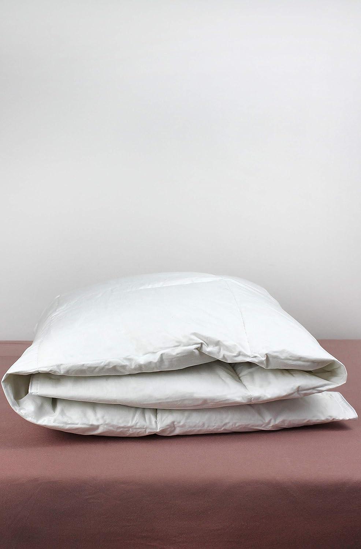 Kadolis Couette Enfant en Duvet de Plume de Canard 140x200 cm Blanc 140 x 200 cm