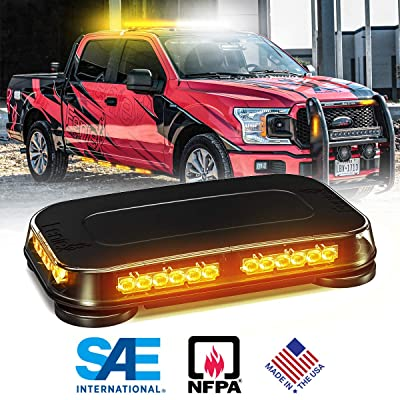 Feniex Fusion Mini Lightbar - Amber: Automotive