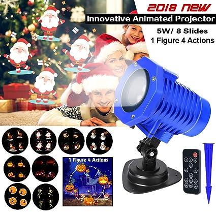 Amazon.com: 2018 Luces de proyector animadas, proyector de ...