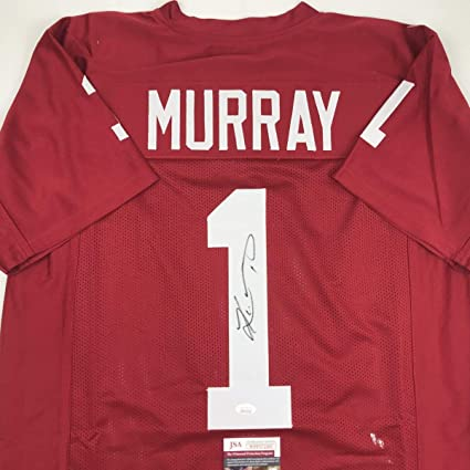 best cheap f2f2b dae31 Autographed/Signed Kyler Murray Oklahoma Maroon College ...