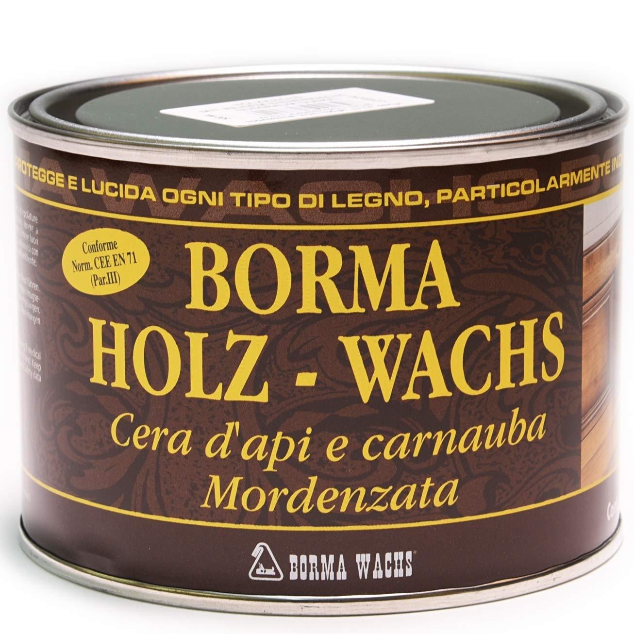 BORMA WACHS 500ml Holzwachs EN-71/3 Zertifiziert (51 - Eiche hell)