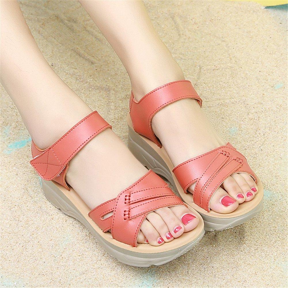 XZGC - Scarpe con fascia alla caviglia. Donna , rosso (rosso), 40