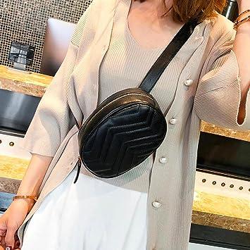 8d41e9e96 Women Bag, LtrottedJ Fashion Women Pure Color Leather Messenger Shoulder Bag  Chest Bag (Black