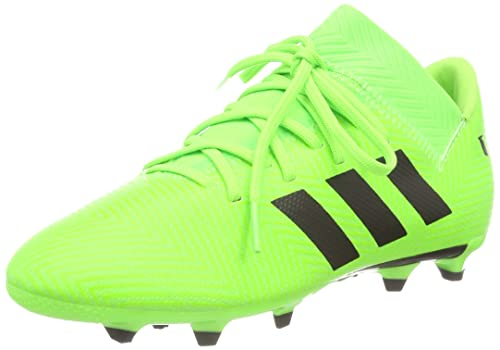 new product 33be9 c9c6d adidas Nemeziz Messi 18.3 Fg, Scarpe da Calcio Unisex-Bambini, Verde  CblackSgreen, 34 EU Amazon.it Scarpe e borse