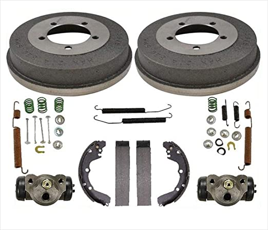 Amazon.com: Rear Brake Drums Shoes Spring Kit Wheel Cylinder For 95-00 Avenger 95-05 Eclipse Stop Look Check Only Models Using Rear Drum Brakes: Automotive