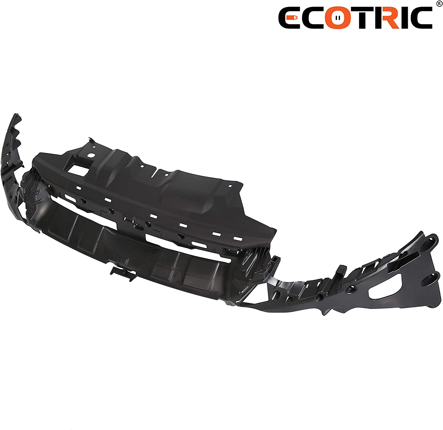 ECOTRIC New Front Upper Bumper Bracket Mounting Cover Support for 2012 2013 2014 Ford Focus| Replaces Part# FO1065105 CP9Z17C897A