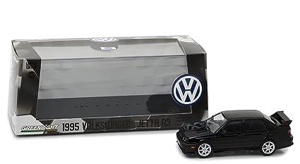 Amazon Com 1995 Volkswagen Jetta A3 Black 1 43 Diecast Model Car By
