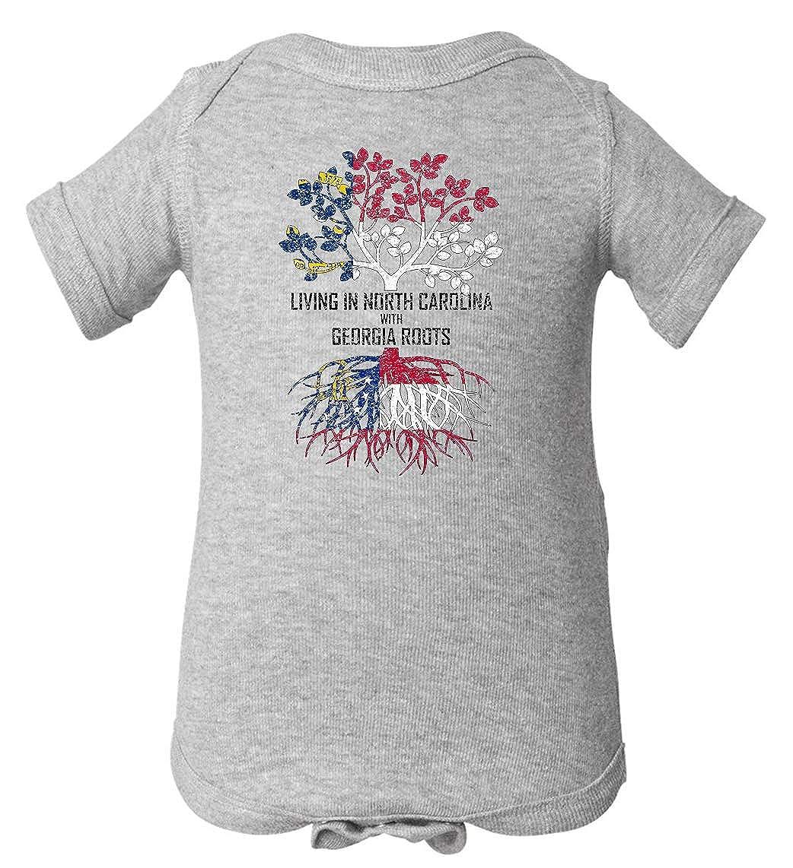 Tenacitee Babys Living in North Carolina with Georgia Roots Shirt