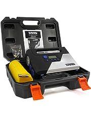 TireTek RX-i pompa digitale per gonfiaggio pneumatici - compressore portatile ad aria 12 V con spegnimento automatico